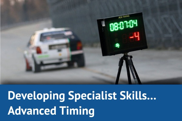 Developing Specialist Skills: Advanced Timing