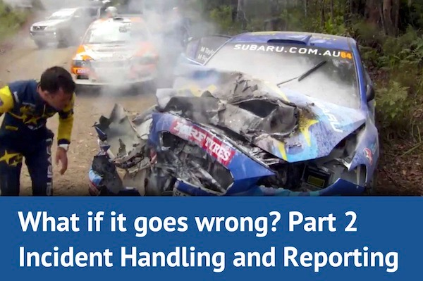 What if it goes wrong (part 2)? Incident Handling & Reporting