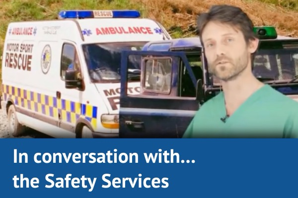 In Conversation with… the safety services